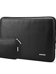 POFOKO® 11.6/13.3/15.4 Inch Laptop Sleeve Black/White