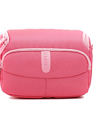 Lovely L Size Camera Case for Sony A6000/A5000/A5100/Nex5tl DSLR/Cam Bag 24*15*17 Pink