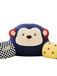 METOO senbao микрофон кролика плюша обезьяны талии поясничной подушки поясничной подушки подарка рождества цирковой обезьяны сокровище