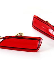 2x 13 vermelho levou pára-choques traseiro lâmpada lâmpada reflector para 2011-2013 Lexus CT200h