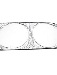 schwarze Punkte PVC-Autofrontscheibe Sonnenschutz Sonnenschutz 50 * 125cm