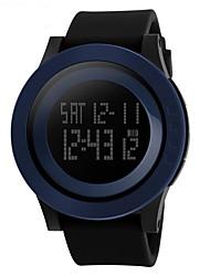 SKMEI Men's Sport Watch Wrist watch Digital Watch LCD Calendar Chronograph Water Resistant / Water Proof Alarm Luminous Stopwatch Digital