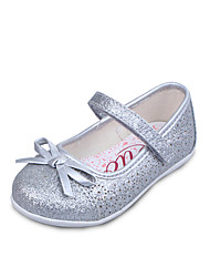 UOVO Baby Shoes Dress / Casual PU Flats Silver