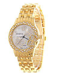 Ladies' Fashion Quartz Diamante Butterfly Top Grade Individuality Fashionable Relaxation Watches