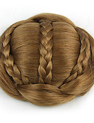 mariée crépus or bouclés europe cheveux humains capless perruques chignons sp-189 2005