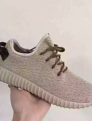 Running Running Shoes Women's Anti-Slip / Damping / Wearproof / Breathable Braided / Low-Top / Coconut Shoes/Yeezy Boost Blue / Beige