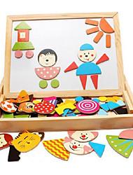 madeira feitiço feitiço magnético, crianças prancheta magnética, o bebê na primeira infância brinquedos educativos