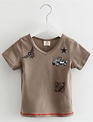 2016 New hot Baby Kids Boys Cartoon Cars T Shirt Kids Short Sleeve T-shirt Children Super Cars T-Shirt