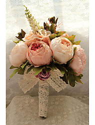 Wedding Flowers Free-form Handmade Roses Bridal Bouquets