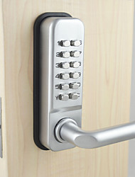Solid Door Locks , Finish for Satin Nickel , Zinc Alloy