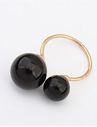 Ringe Damen Künstliche Perle Legierung Legierung 4.0 / 6 Gold