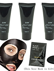 PILATEN 3 Pcs Facial Care Deep Cleansing Peel Off Removal Blackhead Nose Face Mask +1 Pcs Small Nose Mask Gift