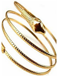 Women's Cuff Bracelet Alloy Snake Gold Silver Jewelry 1pc