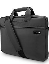 pofoko® 15 pulgadas oxford bolsa de ordenador portátil de tela negro / gris