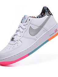 Nike Air Force 1 Sneaker Men's Basketball Shoes Fabric Black / White / Gray / Tan