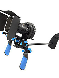 DSLR Rig Set Movie Kit Shoulder Mount Rig with Matte Box for  Video Camcorders