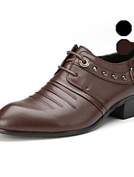 Aokang Men's Shoes Wedding/Outdoor/Office & Career/Party & Evening/Casual Leather Oxfords