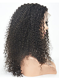 14-18inch Human Hair Lace Wigs Natural Color Loose Wave Lace Front Hair Wigs