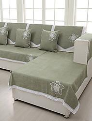 De haute qualité chenille serviette canapé quatre saisons antidérapante tissu coussin de canapé