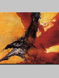 Grand peint à la main résumé fantaisie peinture à l'huile moderne sur toile un panneau avec cadre prêt à accrocher
