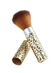 1Pcs A Genuine Beauty Makeup Brush Retractable Blush Brush Blusher Brush Soft Brush Hair Color Random