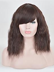 sem tampa de alta multi-cor de qualidade de onda natural, perucas sintéticas