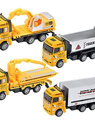 Children's toy car truck 1:48 back of alloy car model toy excavators 1:55 ladders (9PCS)