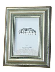 6 * madeira sólida 4 * 1 de 6 polegadas estilo europeu / americano Vintage picture frame