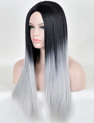 Top Quality Wigs Two-Tone Fashion Wigs Wavy Wig Synthetic,Wholesale Ombre Wigs  the Best Synthetic Wig