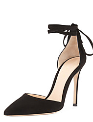 Women's Shoes Black Pointed Toe Thin Heel Heels Party & Evening Shoes EU size 34--45