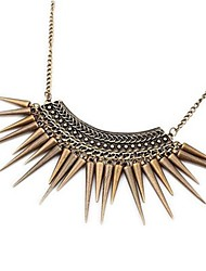 Necklace Choker Necklaces Jewelry Daily / Casual Tassels / Vintage / Punk Style Alloy Bronze 1pc Gift