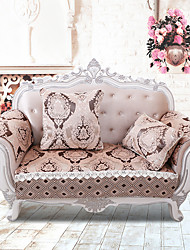 European Classical Quilted Sofa Cover High-grade Chenille Armrest Fabric Sofa Towel