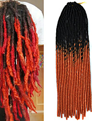 20inch Kanekalon Senegalese Braids Crochet Soft Dread Lock Synthetic Braiding Hair with Crochet Hook
