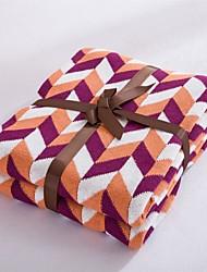 """Трикотаж В соответствии с фото,Окраска в пряже Геометрия 100% хлопок одеяла 120*180cm(47""""*71"""")"""