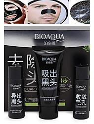 1 Maske Nass Cream Weiß machen / Porenreduzierung / Anti-Akne / Aufhellung / Reinigung / Mitesser Gesicht Schwarz China BIOAQUA