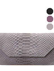 RAFURA Women-Casual-Cowhide-Wallet-Purple / Gray / Black-RJ0579