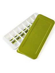 Silicone Ice Cream Mold Practical Ice Lattice Molds With Cover Ice Cube Tray