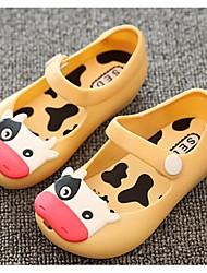 Zapatos de bebé-Planos-Casual-PVC-Negro / Amarillo / Rojo