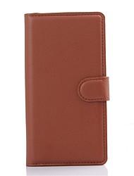 telefone de couro carteira cartão capa protetora em relevo pu couro titular para Sony Xperia m4 do aqua