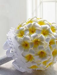 Свадебные цветы Круглый Лилии Пионы Букеты Свадьба Партия / Вечерняя Полиэфир Атлас Поролон Около 20 см