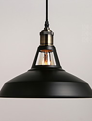 Industrial Vintage Barn Mini Metal Pendant Light Dining Room Study Room/Office 1 Light Multi Color Optional