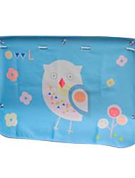 70 * 50 Textilauto Vorhänge Sonnenschutz Eule
