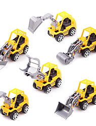 Dibang - Children's toy car truck 1:32 alloy car model toy car excavator concrete (2PCS)