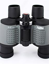 Panda 8 32mm mm Jumelles bak4 Haute Définition / Portable 133m/1000m 5m Mise au point Centrale Multi-traitéesUtilisation Générale /