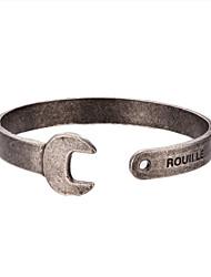 Bracelet Bracelets Rigides / Manchettes Bracelets Acier au titane Durable / Mode / Vintage / InspirationSoirée / Quotidien / Décontracté