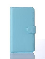 PU portefeuille en cuir porte-téléphone en relief pour nokia lumia 435