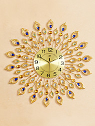 Modern Style Creative Fashion Diamond Mute Wall Clock