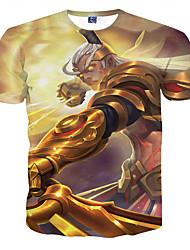 2016 new king glory hero men 3D women T shirt T shirt