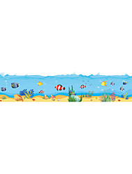 Wall Stickers Wall Decals Style New Underwater World PVC Wall Stickers