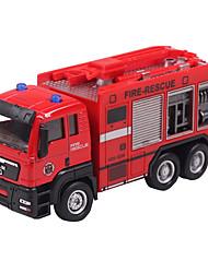 Dibang - children's toys alloy car models 1:55 glide truck model toy car fire artillery (6PCS)